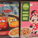 Disney Cars and Minnie Mouse Kellogg's Cereal