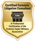 Certified Forensic Litigation Consultant badge